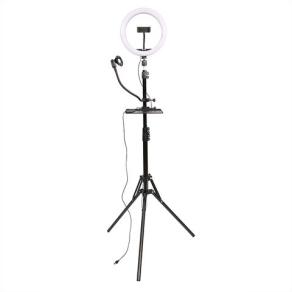 StudioKing LED Vlog Set SK-K190 with Ring Lamp and...