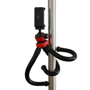 StudioKing Flexible Table Tripod FTR-18 with Smartphone...