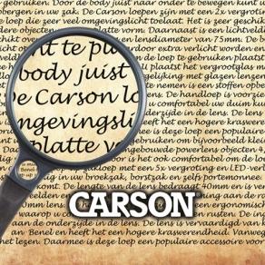 Carson Leeres Thekendisplay