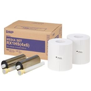 DNP Standard Papier DSRX1HS-4X6HS 2 Rollen à 700...